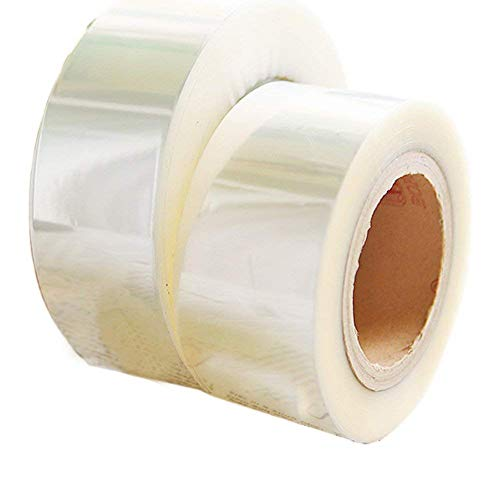 Loghot Mousse Cake Baking Roll Fashion Optically Clear Acetate Roll Cake Decoration (400 m)