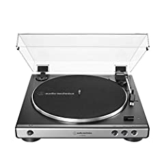 Experience your vinyl's high fidelity audio directly or convert it to digital Fully automatic belt drive turntable operation with 2 speeds: 33 1/3, 45 RPM Anti resonance, die cast aluminum platter Redesigned tone arm base and head shell for improved ...