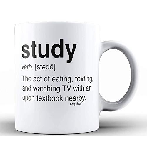Study Definition Ceramic Coffee Mug