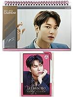 イ・ミンホ Lee Min Ho グッズ / 2021年 - 2022年 (2年分) 卓上 カレンダー + ポストカード 12枚(+α) セット - 2021-2022 (2years) Desk Calendar + Post Card 12sheets(+α)Set [TradePlace K-POP 韓国製]