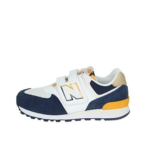 New Balance 574 Kids (YV574SUR) Sneaker Bambino con Strappo (Numeric_30)
