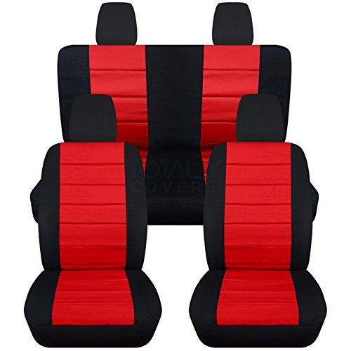 Totally Covers Compatible with 2011-2018 Jeep Wrangler JK Seat...
