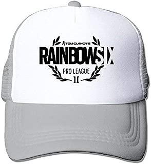 Novelcustom Tom Clancys Rainbow Six Siege Logo Adjustable Snapback Hats Baseball Caps Sandwich Cap
