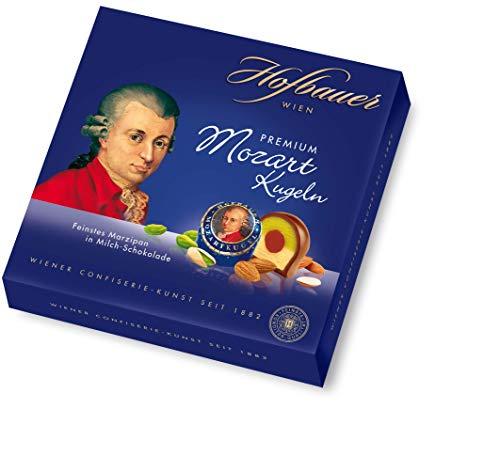 Hofbauer Wien, Mozartkugeln 200 g, Milchschokolade, 1 stück