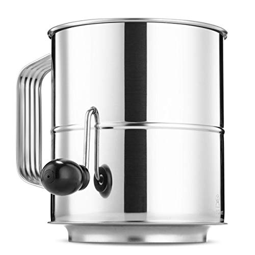Tamizador de harina de 8 tazas de ChefGiant