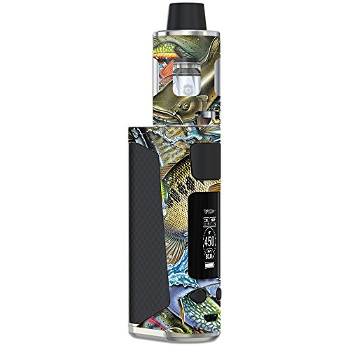 MightySkins Skin Compatible with Joyetech eVic Primo Mini – Action Fish Puzzle | Protective, Durable, and Unique Vinyl Decal wrap Cover | Easy to Apply, Remove, and Change Styles | Made in The USA
