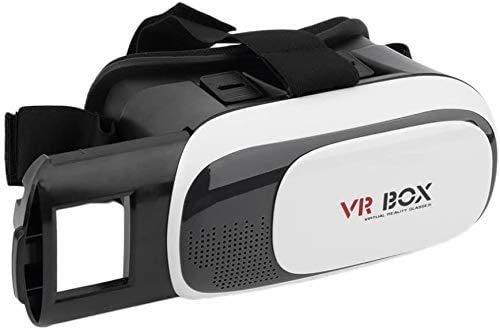 Trading 3D Video Glasses VR Box Mobile V2 3D Virtual Reality Headset Casco Compatible con teléfonos Inteligentes de 3.5 '-6.0' para películas y Juegos en 3D
