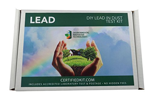 Read About EIT - Lead in Dust Testing Kit (10 Pack) - Includes lab testing and prepaid shipping to l...