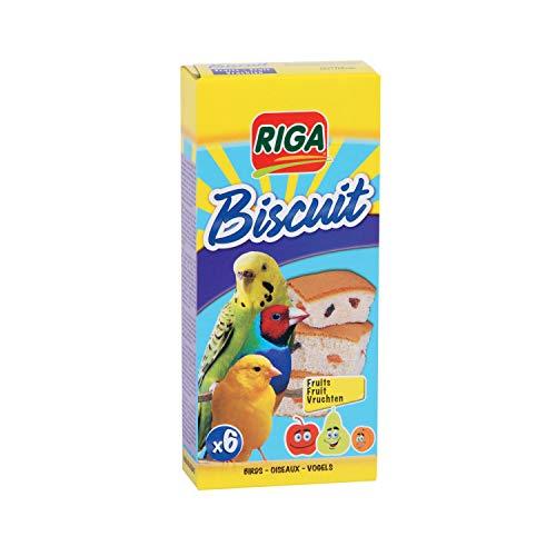 Riga 6 Kekse mit Früchten für Vögel, 1er Pack (1 x 70 g)