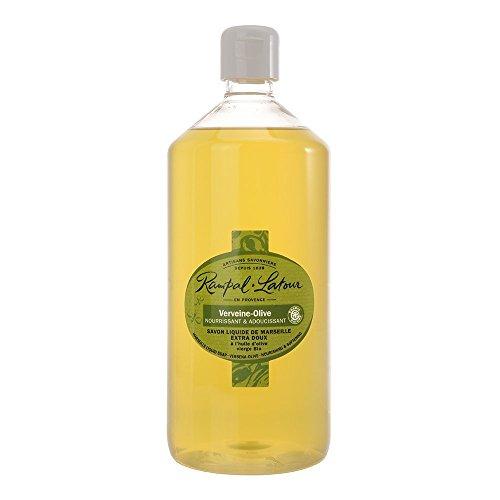 RAMPAL LATOUR Savon Liquide de Marseille Savonnerie Artisanale Verveine 1 L