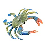 Toyvian Animales marinos, juguete para cangrejos océanos, criatura de juguete para fiestas, bolsa de baño, juguete para niños
