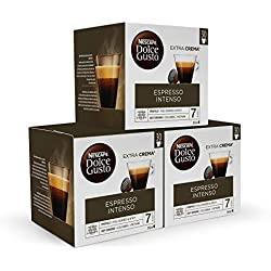 Pack de 90 cápsulas para café intenso Nescafé DOLCE GUSTO