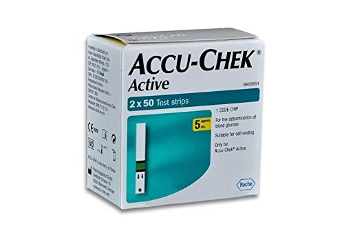 Accu-Chek Active 100 Test Strips with 1 Code Chip