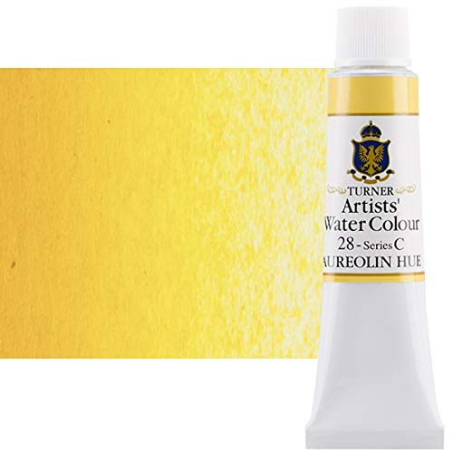 Turner Concentrated Professional Artists' Watercolor Paint 15ml Tube - Aureolin Hue