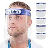 5X Blumax Visier Gesichtsschutz - aus robustem Kunststoff – Face Shield - Schutzschild Gesicht -...