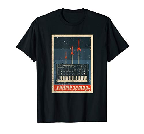 Vintage Synthesizer Analog - UDSSR Soviet Synth T-Shirt