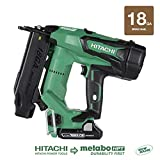 Hitachi NT1850DE 18V Cordless Brad Nailer, Brushless Motor, 18 Gauge, 5/8' to 2' Nails, Compact 3.0...