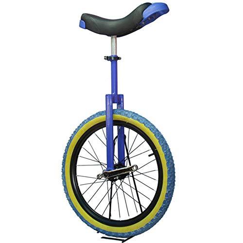 SYCHONG De 20 De Incheskid/Adulto Instructor Monociclo, Bicicletas Equilibrio Carretilla, Neumáticos De Goma Anti-Deslizante Anti-Desgaste De Presión Anti-Gota Anticolisión