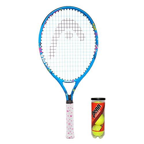 Head Novak 21' Raqueta de Tenis junior + 3 Pelotas de tenis