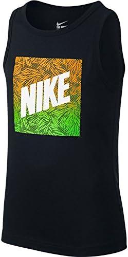 Nike Camiseta Verbiage Negro para Niño