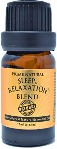 Sleep & Relaxation Essential Oil Blend 10ml / 0.33oz - Pure...