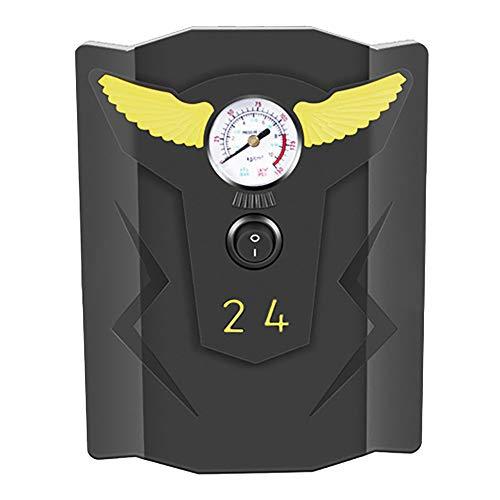 Gaoominy Inflador de NeumáTicos de Coche Bomba Inflable de NeumáTicos Digitales de 12 V Compresor de Aire AutomáTico Bomba de Aire AutomáTica de 150 PSI para NeumáTicos de Ruedas de Coches