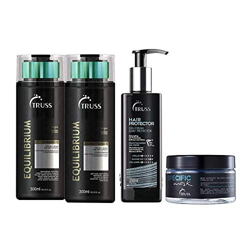 Truss Equilibrium Sh + Cd + Specific Mask + Hair Protector
