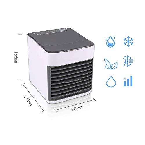 LCLLXB Mobile Klimagerät, Luftkühler mit Ventilator Klimaanlage Leise Luftbefeuchtung Klima Anlage Stufen Aircooler