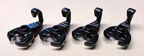 LEGO Black Scorpion Minifig Animal x4 Loose