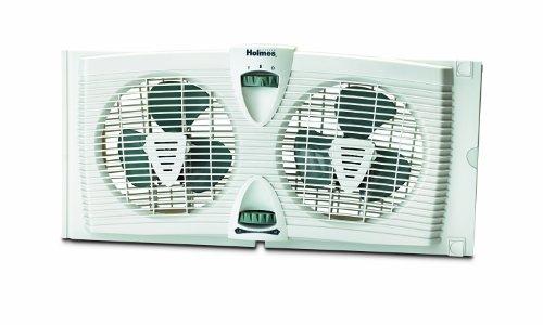 twin blade window fans - 6