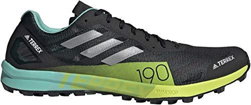 adidas Terrex Speed Pro, Zapatillas de Trail Running Hombre, NEGBÁS/Plamat/Amasol, 42 EU