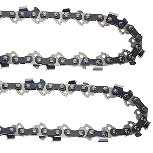 Kuinayouyi Cadena de motosierra de 16 pulgadas 3/8 LP 55 cadena de transmisión para MS170 MS180 61PMM355, para cadena Oregon 90PX055 90PX R55