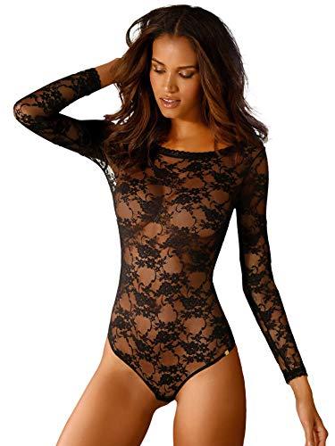 JETTE Damen Body schwarz 42 (XL)