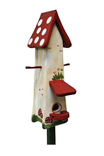 Die Vogelvilla, Futtertürmchen Spezial Waldhaus, Futterhaus, Vogelhaus