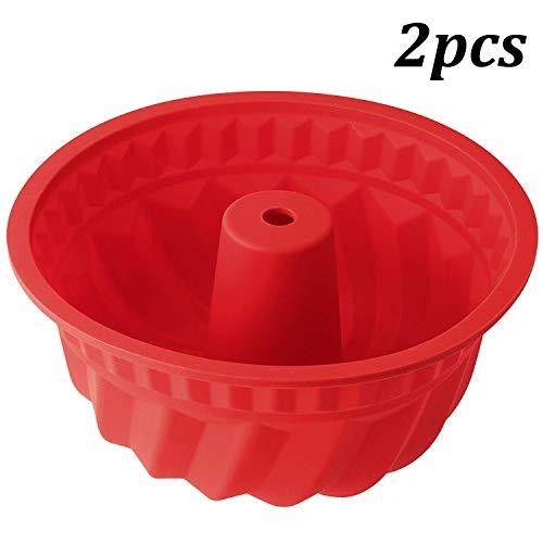 WENTS Silikon Gugelhupfform Ø 27 cm LFGB Zertifiziert BPA-frei Silikon Backform für...