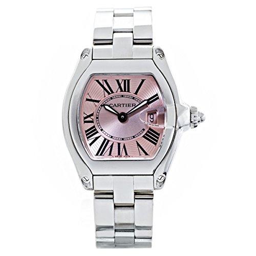 Cartier Roadster W62017V3 - Reloj de cuarzo suizo para mujer (certificado de propiedad propia)