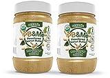 PB&Me USDA Organic Powdered Peanut Butter, Keto Snack, Gluten Free, Plant...