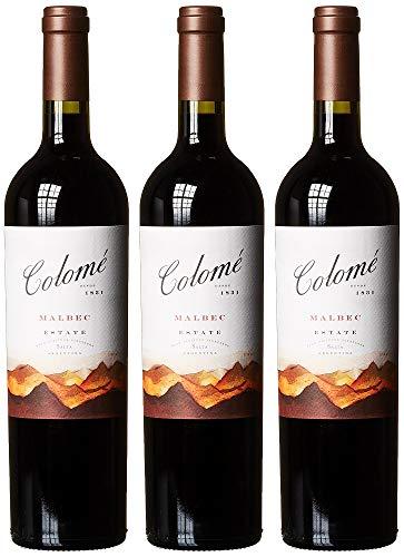 Colomé Estate Malbec 2014/2015 trocken (3 x 0.75 l)