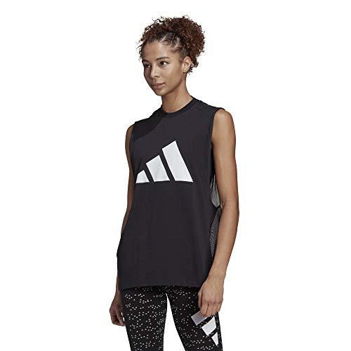 adidas W ST Tank, black, XS Womens