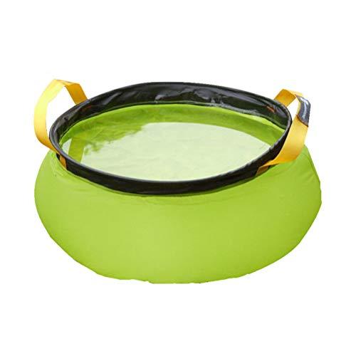 Sykasm - Vasque léger 10L 20D Nylon résistant à la déchirure - Seau Portable, Vert