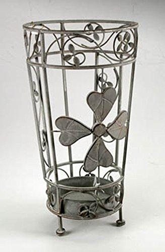 Idea casa: Portaombrelli in ferro lavorato con vaschetta scolapioggia