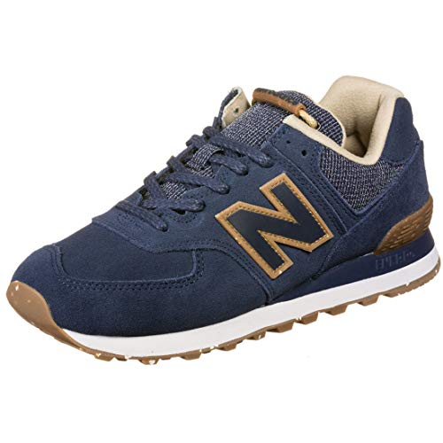 New Balance 574v2, Baskets Homme, Bleu (Navy Soh), 43 EU