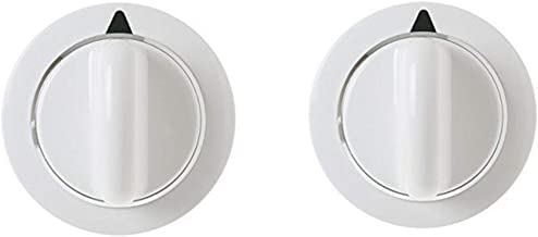 (2 PACK) WE1M654 Dryer Knob Replaces For General Electric AP5805160 PS8769912 WE01X20374