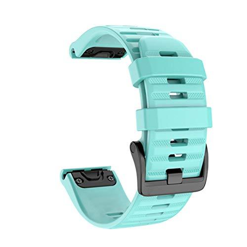 XIAOSHI Pulsera Actividad Inteligente 20 22 22mm Smart Watch Band Correas para Garmin Fenix 6 6s 6X 5X 5 5s 3hR Forerunner 935 945 Strap de liberación rápida Pulsera de Silicona Pulsera Pandora