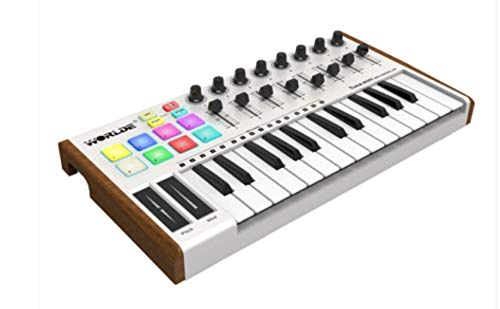 worlde-Tuna mini Extreme Edition 25-key midi keyboard pad music arranger keyboard electronic sound MIDI controller