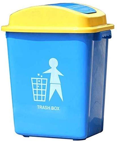 WYJW Externe afvalbak Plastic afvalbak voor het opbergen van de vuilnisbak in een plastic vuilnisbak met kantelbak (afmeting: 30L)