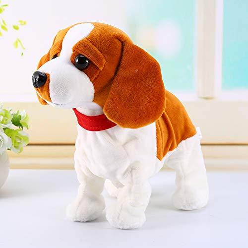 Interactivo Cachorro Robot Mascota Perro Electrónico de Control de Sonido