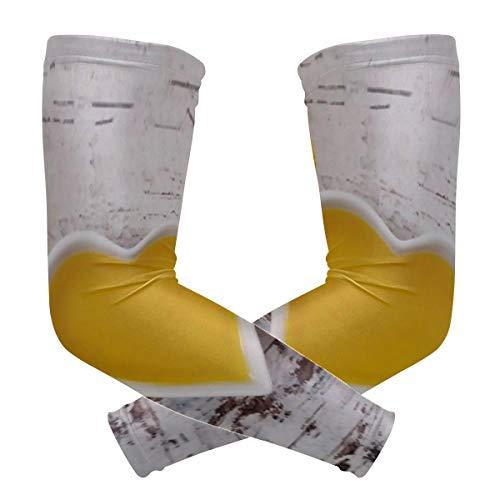 Mangas de protección del brazo de enfriamiento unisex Mangas de sol, aceite de colza En...
