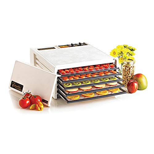 Excalibur 5-Tray Electric Food Dehydrator, White