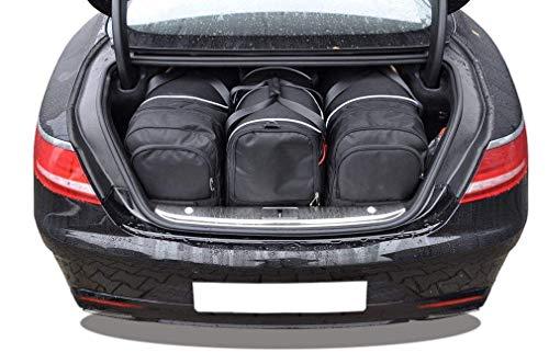 KJUST Reisetaschen 4 STK Set kompatibel mit Mercedes-Benz S Coupe W222 2014 -